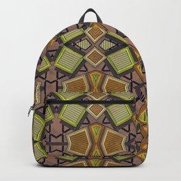 Shaman plaid Backpack