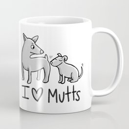 I Love Mutts Coffee Mug