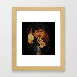 jackie Framed Art Print