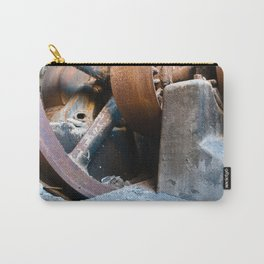 Old Rusty Salt Machine Carry-All Pouch
