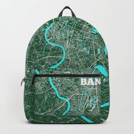 Bangkok, Thailand street map Backpack