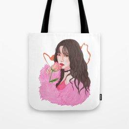 Irene Red Velvet Bad Boy Tote Bag