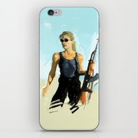 terminator iPhone & iPod Skins featuring TERMINATOR by Erased Account
