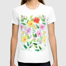 Flowers (collage) T-shirt