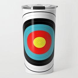 Isolated Target Travel Mug