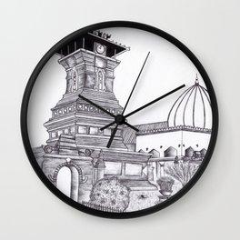Menara Kudus Wall Clock