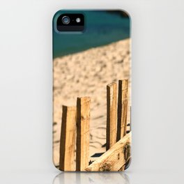 Fence beach iPhone Case