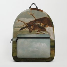 George Stubbs - Hound Coursing a Stag Backpack