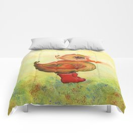 Autumn and Snozzleberryduck Comforters