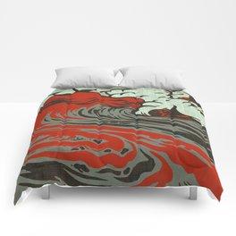 Lava Meets The Sea Comforters