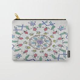 Garden Friends Mandala Carry-All Pouch