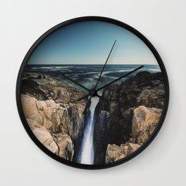 Relentless Atlantic Wall Clock