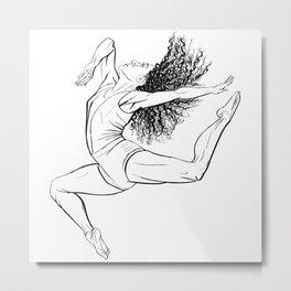 Ballet Dancer III Metal Print