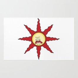 Praise the Screaming Sun Rug