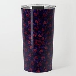 Spiral Bouquet Pattern Travel Mug
