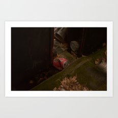 What was once a prize...  Art Print