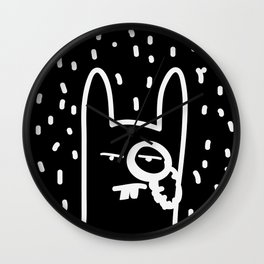 BourgeoisBunny Wall Clock