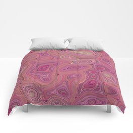 Mineralicious-Pink Agate Comforters