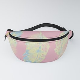 Abstract Feathers Fanny Pack
