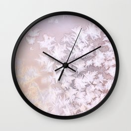 Frosted Window Pane Wall Clock