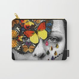 Butterfly Jewel. Carry-All Pouch