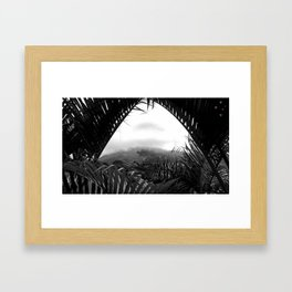 Arenal Framed Art Print