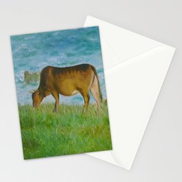 cattle in Tap Mun Stationery Cards
