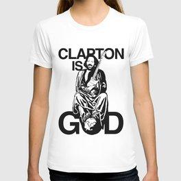 Clapton Is God Eric Clapton T-shirt