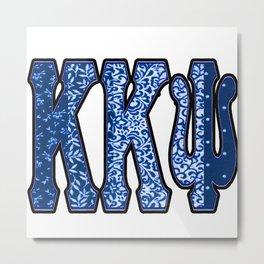 K K Psi Royal Metal Print