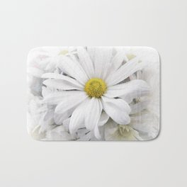 White African Daisy at Barthels Farm Market Bath Mat