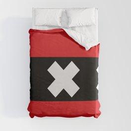 Amsterdam Flag Duvet Cover