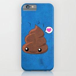 Poop Love iPhone Case