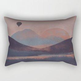 Adrift in the Mountains... Rectangular Pillow