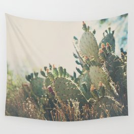 desert prickly pear cactus ... Wall Tapestry