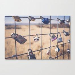 PradaMarfa Love Locks Canvas Print
