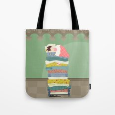 Princess and the Pea Tote Bag