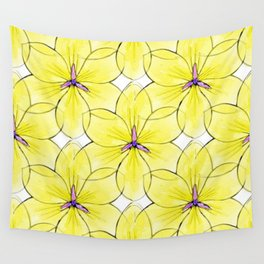 Flower Sketch 3 Wall Tapestry