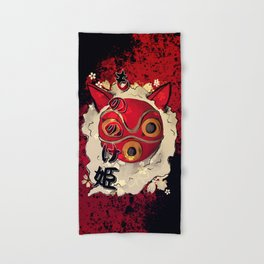 San - Mononoke hime Hand & Bath Towel