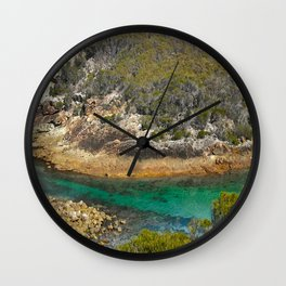 Land and Seascapes Wall Clock