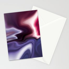 light reflecting on blue pink purple silk abstract digital art Stationery Cards