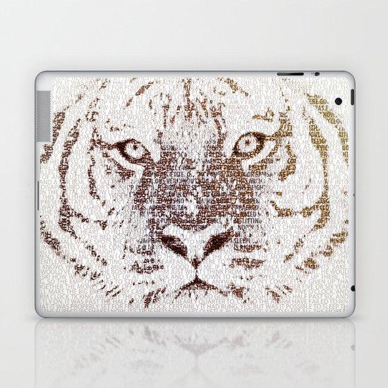The Intellectual Tiger Laptop & iPad Skin