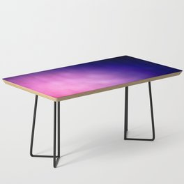 Pink and Purple Abstract Coffee Table