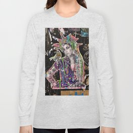 Rehab Amy Graffiti in New York City Long Sleeve T-shirt