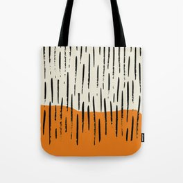 Lines abstract color box Tote Bag