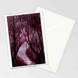 Purple Woos Stationery Cards