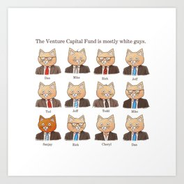 The Venture Fund Art Print