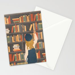 Library Love Stationery Cards