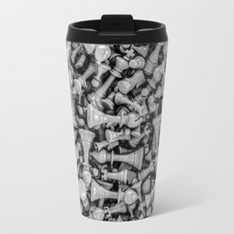 Chess B&W Travel Mug