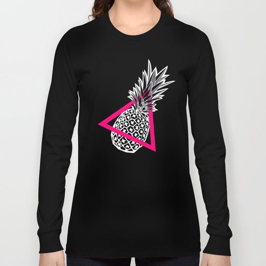 Pineapples & Triangles Long Sleeve T-shirt