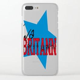 Viva Britannia Clear iPhone Case